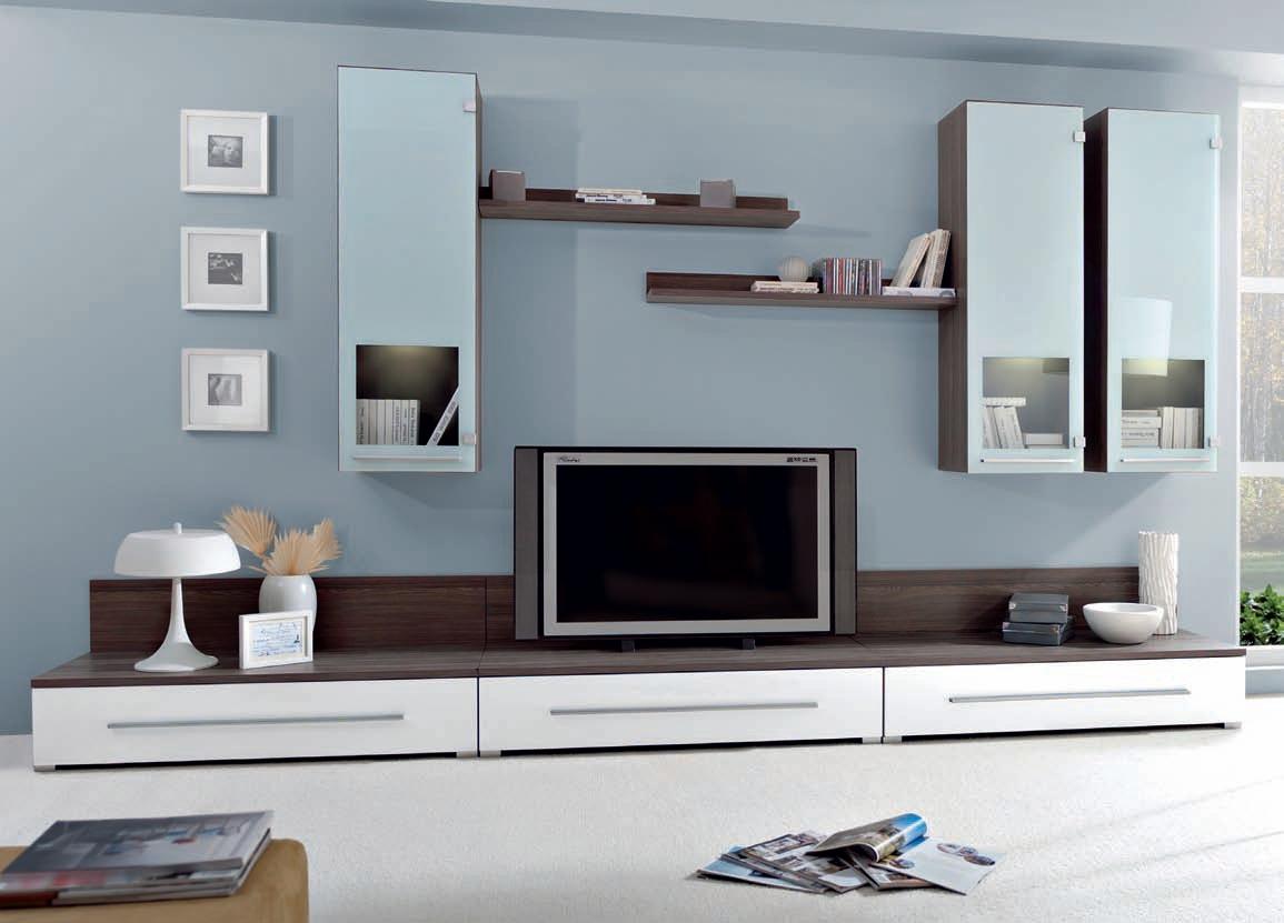 Obývacia stena - BRW - Icecold (s osvetlením)
